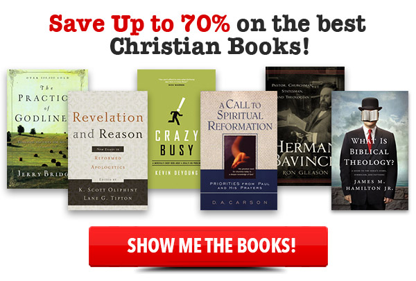 Save Up To 70% on the Best Christian Books
